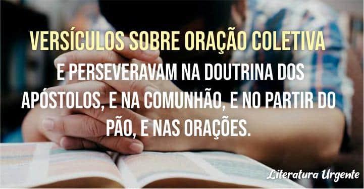 oração coletiva