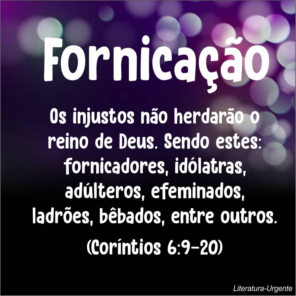 frase sobre fornicar